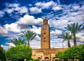 Garden Koutoubia in Marrakesh