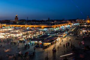 The Big Square at Marrakesh, Jamaa el Fana