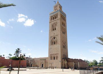 Koutoubia Mosque at Marrakesh